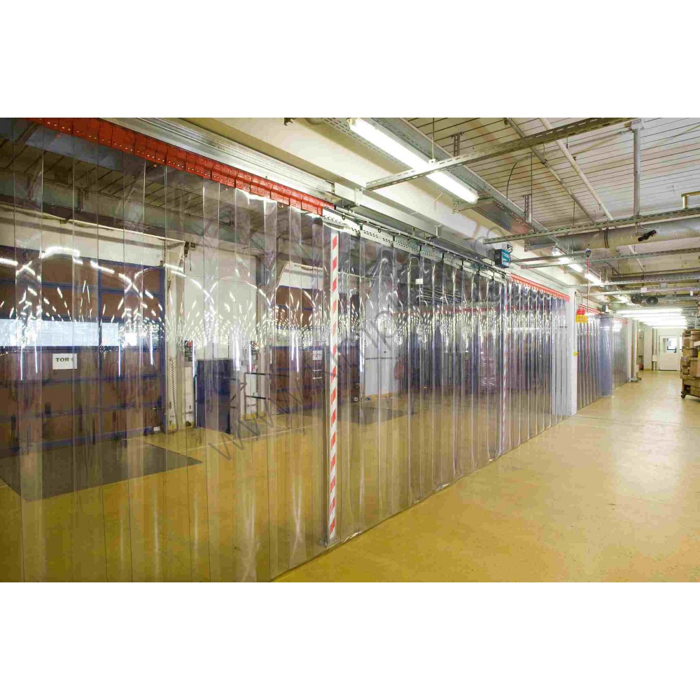 La différence entre cloison industrielle et rideau industriel
